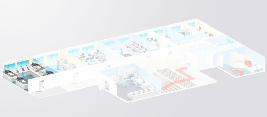 Схема лаборатории